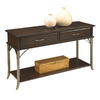 Home Styles Bordeaux Espresso (Metal) Rectangular Console and Sofa Table