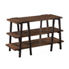 Magnussen Home Lawton Natural Pine Pine Rectangular Console and Sofa Table