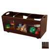 KidKraft 32-in W x 15-in H Espresso Composite Wood Bin