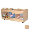 KidKraft 32-in W x 15-in H Natural Composite Wood Bin