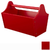 KidKraft 13-in W x 9-in H Red Composite Wood Basket