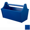 KidKraft 13-in W x 9-in H Blue Composite Wood Basket