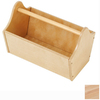 KidKraft 13-in W x 9-in H Natural Composite Wood Basket