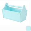 KidKraft 13-in W x 9-in H Ice Blue Composite Wood Basket