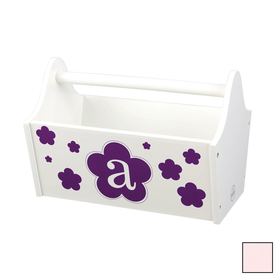 KidKraft 13-in W x 9-in H Petal Composite Wood Basket