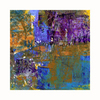 Cascadia 36-in W x 36-in H Frameless Canvas Purple Abstract 1 Print Wall Art