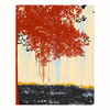 Cascadia 11-in W x 14-in H Frameless Canvas Red Bushes 1 Print Wall Art