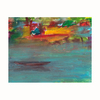 Cascadia 22-in W x 28-in H Frameless Canvas Canoes On Lake Print Wall Art