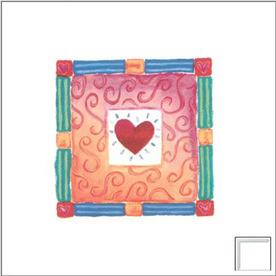 Art 4 Kids 13-in W x 13-in H Novelty Framed Wall Art