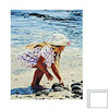 Art 4 Kids 16-in W x 20-in H Seascape Framed Wall Art