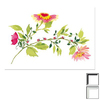 Art 4 Kids 24-in W x 20-in H Floral and Still Life Framed Wall Art