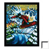 Art 4 Kids 22-in W x 26-in H Sports and Recreation Framed Wall Art