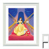 Art 4 Kids 24-in W x 27-in H Cartoon Framed Wall Art