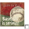 Art 4 Kids 14-in W x 14-in H Sports and Recreation Framed Wall Art