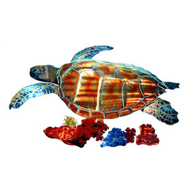 shop next innovations 23 in w x 1525 in h botanical With kitchen cabinets lowes with metal sea turtle wall art