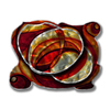 All My Walls 22-in W x 17-in H Frameless Metal Abstract Sculpture Wall Art