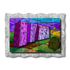 All My Walls 40.5-in W x 30-in H Frameless Metal Landscapes Sculpture Wall Art