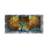 All My Walls 48-in W x 23.5-in H Abstract Art on Metal Wall Art