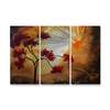 All My Walls 38-in W x 23.5-in H Nature Art on Metal Wall Art