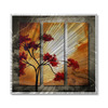 All My Walls 31.5-in W x 29-in H Nature Art on Metal Wall Art
