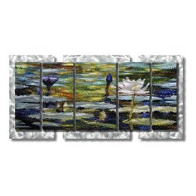 shop all my walls 62 in w x 30 in h botanical metal wall