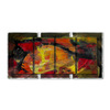 All My Walls 60-in W x 30-in H Abstract Art on Metal Wall Art