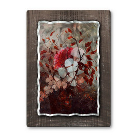 shop all my walls 23 in w x 32 in h botanical metal wall