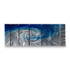 All My Walls 36-in W x 8-ft 6-in H Abstract Art on Metal Wall Art
