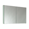 Fresca 39.5-in x 26-in Rectangle Surface Mirrored Medicine Cabinet