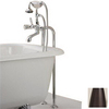 Cheviot Antique Bronze 3-Handle Tub and Shower Faucet Trim Kit with Single-Function Showerhead