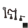 Estate by Pioneer Industries Americana Tuscany Bronze 2-Handle Adjustable Deck Mount Tub Faucet
