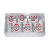 Belle View 12-Pack Ohio State Buckeyes Single Shower Hooks