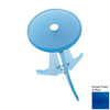 Nameeks Blue Plastic Freestanding Shower Chair