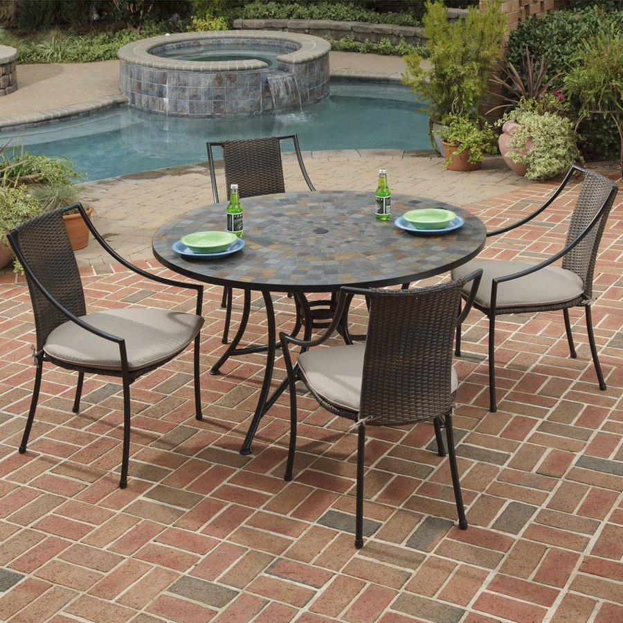 Lowes Patio Furniture Sets Clearance Pictures to pin on Pinterest