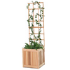 All Things Cedar 18-in W x 60-in H Sanded Panel Garden Trellis