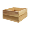All Things Cedar 11-in H x 24-in W x 24-in D Natural Cedar Planter