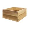 All Things Cedar 24-in W x 24-in L x 11-in H Unfinished Cedar Raised Garden Bed