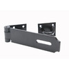 Gatemate Black Heavy Safety Pattern Hasp Staple