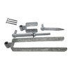 Gatemate Gatemate 030 Galvanized  12Inch Length Double Strap Gate Hinge