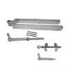 Gatemate Gatemate 032 Galvanized  12Inch Length Adjustable Strap Gate Hinge