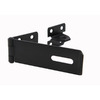Gatemate 6-1/8-in L x 1-1/2-in H Black Safety Pattern Hasps Staple