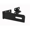Gatemate 6-1/8-in L x 1-1/2-in H Black Safety Pattern Hasps Staple