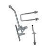 Gatemate Gatemate 0640001 Galvanized  Heavy Duty Gate Latch