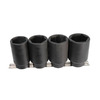 K Tool International 4-Piece 1/2-in Standard 6-Point Impact Socket Set