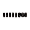 K Tool International 8-Piece 3/4-in Standard 6-Point Impact Socket Set