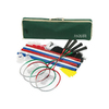 Jaques London County Outdoor Badminton Party Game with Case