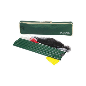 Jaques London Deluxe Outdoor Net and Post Set with Case
