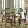 Home Styles Oak Hill Oak Dining Set