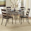 Home Styles Bordeaux Espresso Pewter Dining Set