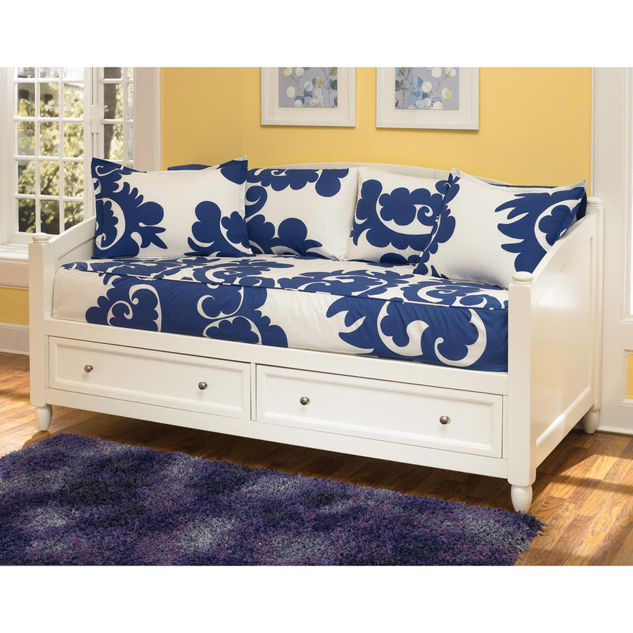 ... Styles Naples White Twin Daybed with Under-Bed Storage at Lowes.com